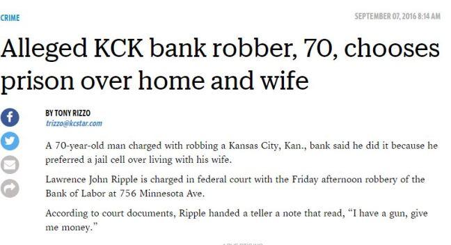1st mention of crime -Kansas City Star